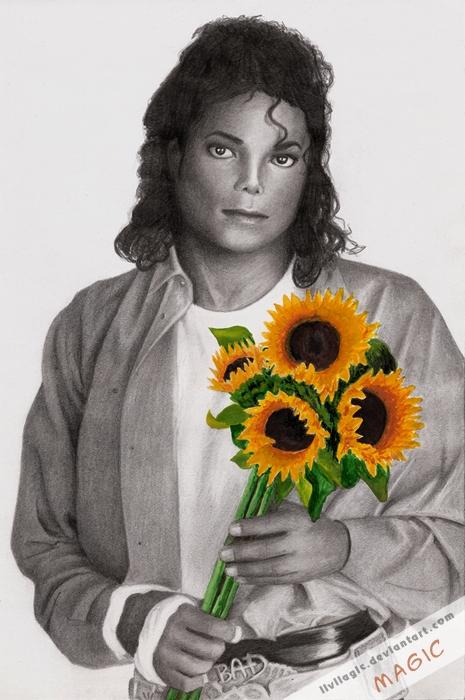 Michael Jackson por magic